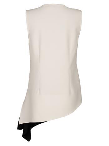 Hihaton paita Alba Moda valkoinen/musta39072/00X