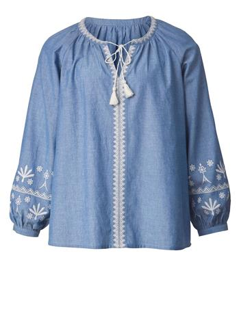 Tunika Janet & Joyce light blue denim41383/70X