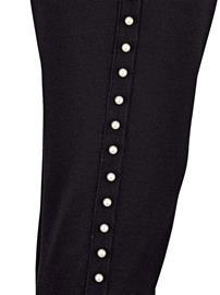 Helmillä koristellut leggingsit MIAMODA musta43353/80X