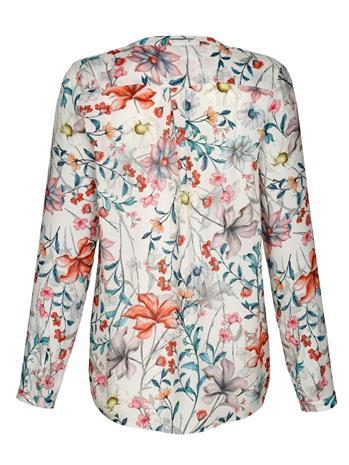 Kukkakuvioitu pusero Alba Moda kivi/monivärinen48780/70X