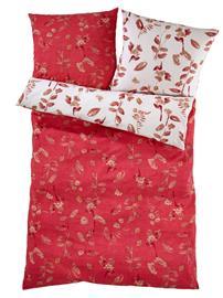 Pussilakanasetti seeersuckeria Castell rubiini52348/60X