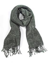 Huivi Alba Moda tummanharmaa/hopeanvärinen55183/40X
