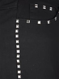 Niittisomisteiset housut MIAMODA Musta53187/70X