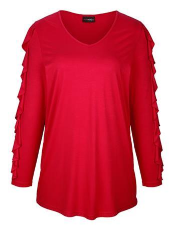 Volangein somistettu paita MIAMODA Punainen55216/20X