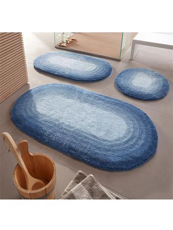 """Kylpyhuoneen matto """"Jamaica"""" Kleine Wolke sininen96708/90X"""