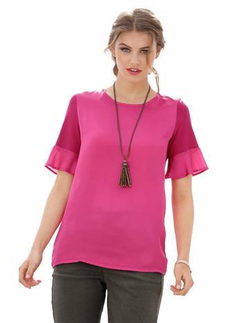 Volankihihainen paita AMY VERMONT pinkki58733/30X