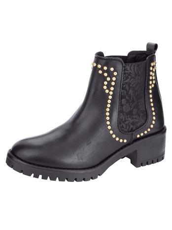 Niittisomisteiset chelsea-nilkkurit musta69985/60X, Naisten kengät