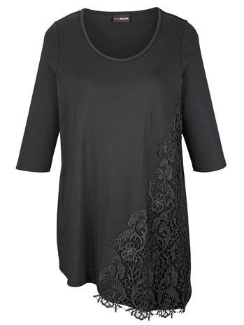 Epäsymmetrinen paita MIAMODA Musta69127/50X