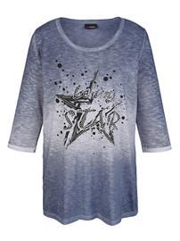 Niittisomisteinen paita MIAMODA Sininen70663/60X