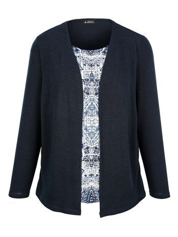 Paita m. collection laivastonsininen75098/00X, Naisten paidat, puserot, topit, neuleet ja jakut