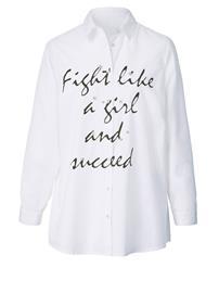 Helmisomisteinen paitapusero Angel of Style Valkoinen72295/50X
