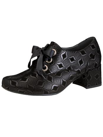 Nauhakengät Semler musta62090/20X, Naisten kengät