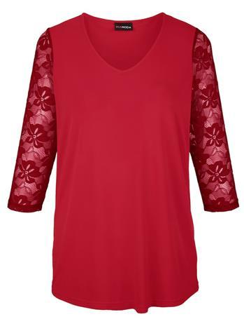 Pitsipaita MIAMODA Punainen98551/10X, Naisten paidat, puserot, topit, neuleet ja jakut