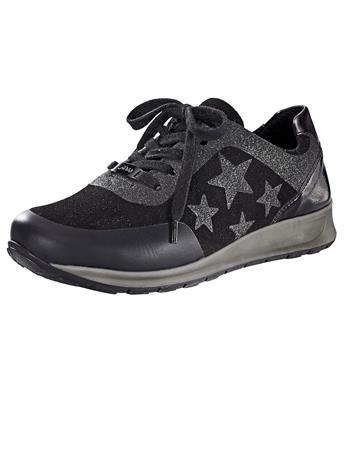 Nauhakengät Ara musta75691/20X, Naisten kengät