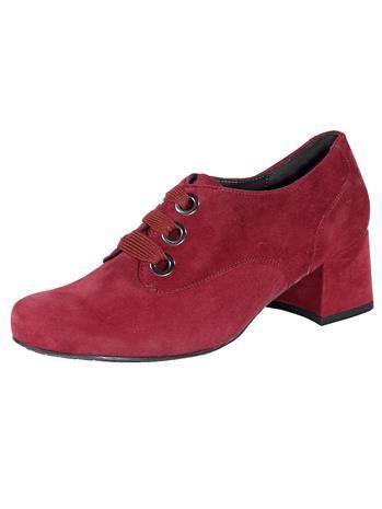 Nauhakengät Semler viininpunainen80872/10X, Naisten kengät