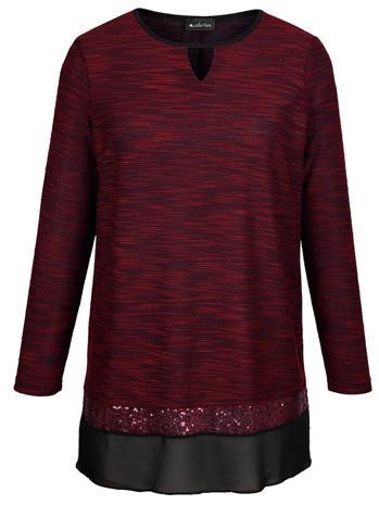 Paita m. collection punainen/musta80662/60X