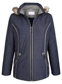 Hupullinen takki Dress In yönsininen81115/40X