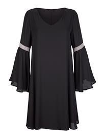 Sifonkimekko Alba Moda Musta55009/10X