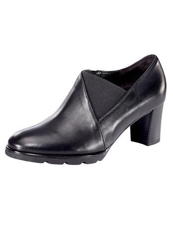 Sivuilta joustavat kengät Gabor musta85211/70X