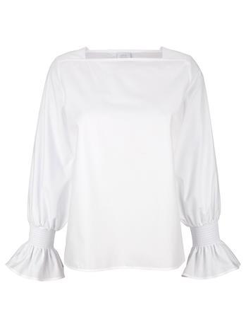 Smokkirypytetty pusero Alba Moda Valkoinen83341/40X