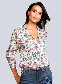Pusero Alba Moda offwhite/pink83375/20X