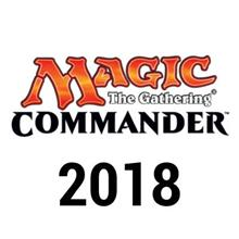 Commander 2018 Deck Display (4 Decks)