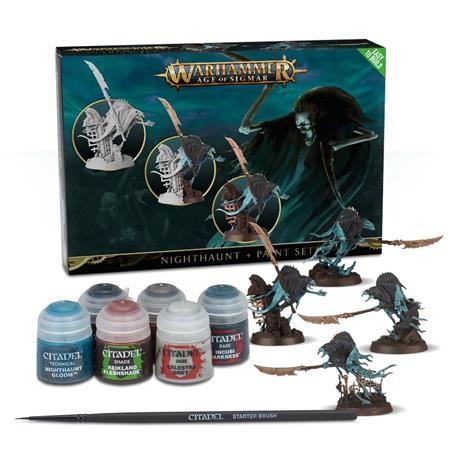 Warhammer Age of Sigmar: Nighthaunt Paint Set WH