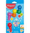 Maped baby 6 väriä lasten väriliitu