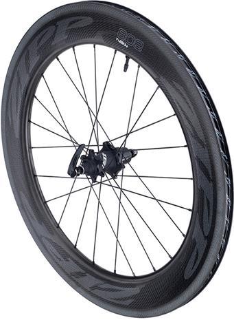 Zipp 808 NSW Tubeless Carbon Clincher SRAM/Shimano , musta