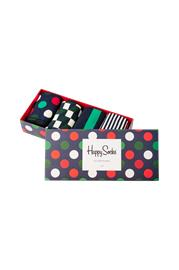 "Happy Socks"" ""Lahjapakkaus Holiday Big Dot Gift Box, 4 paria"