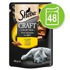 Sheba Craft Collection -säästöpakkaus 48 x 85 g - siipikarjalajitelma