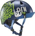 Bern Nino Lapset Pyöräilykypärä , vihreä/sininen