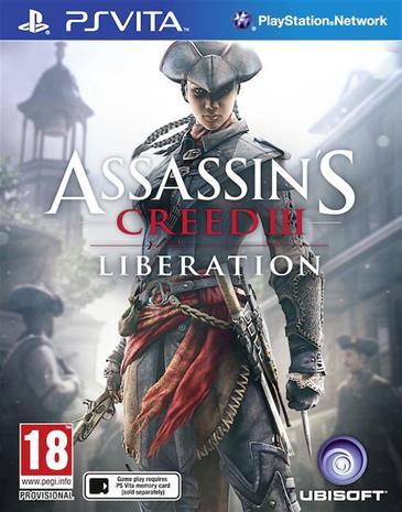 Assassin's Creed III (3): Liberation, PS Vita-peli