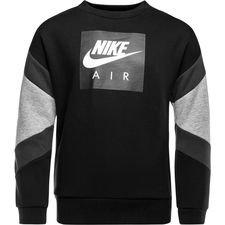 Nike Collegepaita NSW Air Crew - Musta Harmaa Lapset 131d65cbf8