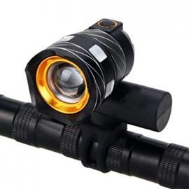 XANES T6 LED -polkupyörän valo zoomilla 300lm - Kulta