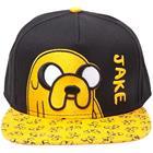 Adventure Time - Jake lippalakki (musta/keltainen)