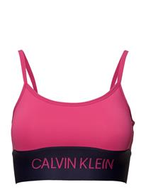 4c2d86ceb23c3 Calvin Klein Performance Strappy Sports Bra PINK YARROW
