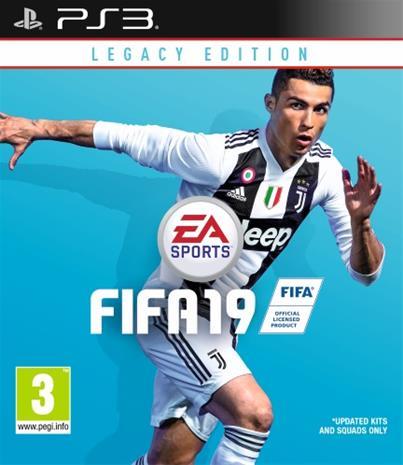 FIFA 19 Legacy Edition, PS3-peli