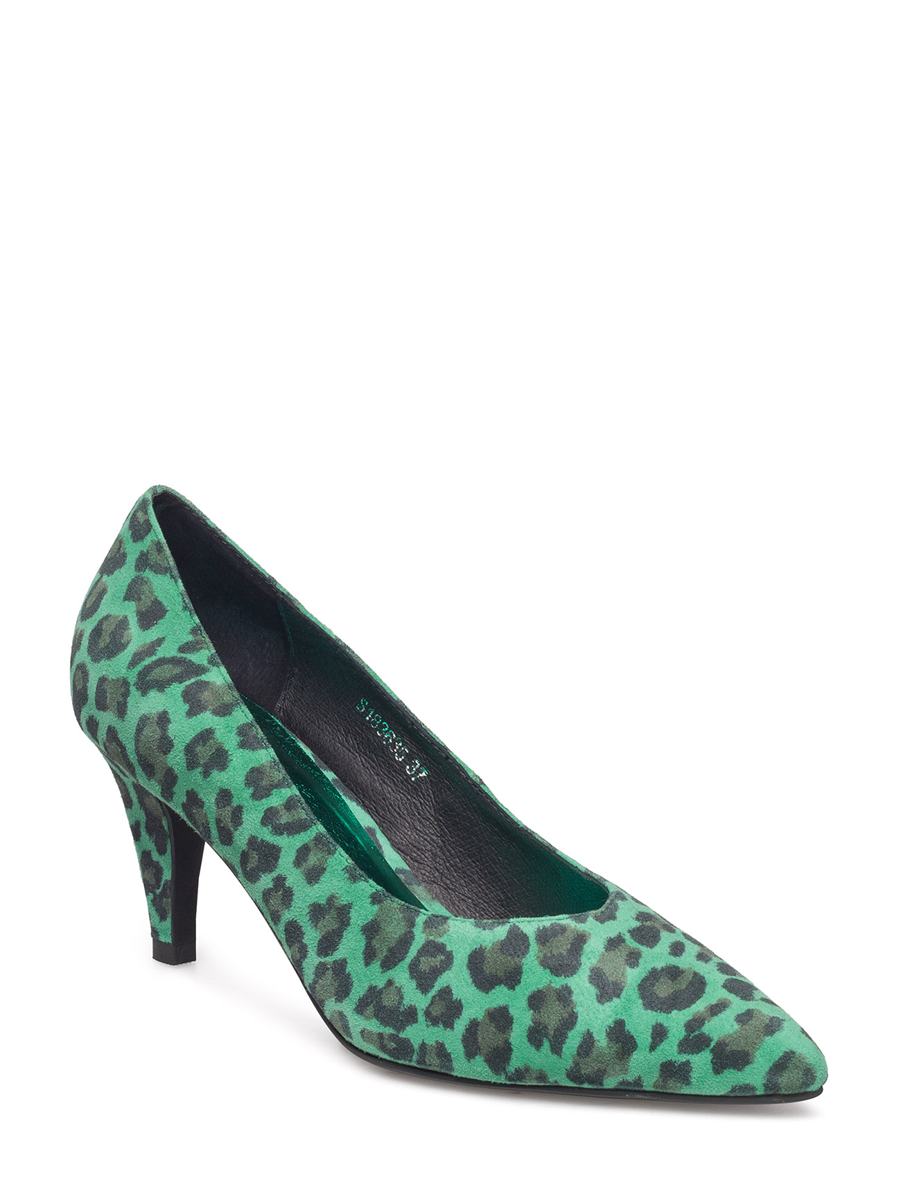8aa29104926 Sofie Schnoor Shoe Stiletto Leo GREEN LEOPARD, hinta 165 €