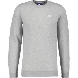 Nike M CLUB CREW DK GREY HEATHER WH f85d4e7077