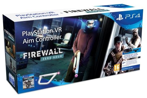 Firewall Zero Hour + AIM Controller, PS4 VR -peli + ohjain