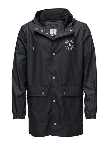 Makia Harbour Rain Jacket NAVY