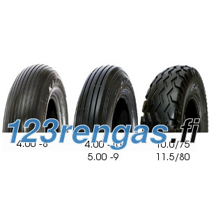 Kabat Implement ( 5.00 -9 4PR TL ) Teollisuus-, erikois- ja traktorin renkaat