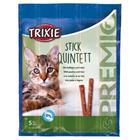 Trixie Kissanruoka 4 x 5 g Premio Quadro-Sticks -tikut, kana-maksa