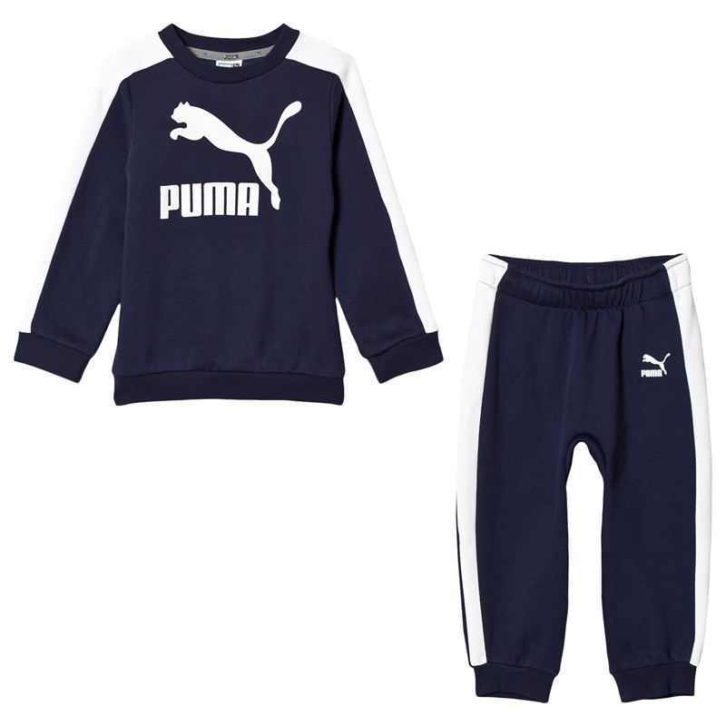 Navy Minime Prime T7 Crew Top and Jogging Bottoms Set1-2 years ... deafed076d