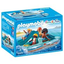 Playmobil 9424, polkuvene + liukumäki