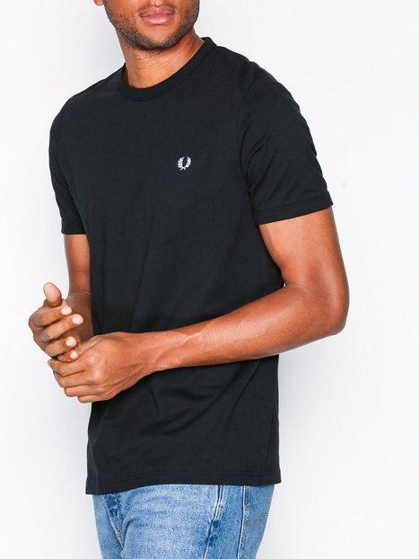 Fred Perry Ringer T-Shirt T-paidat ja topit Black aa27fe4b16