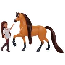 Spirit Lucky-nukke & Spirit-hevonen