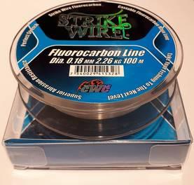 Strike Wire Fluorocarbon 0,22mm/3,36kg 100m