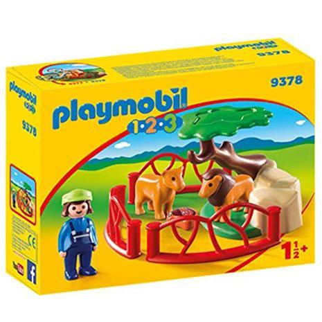 Playmobil 9378, leijona-aitaus
